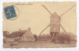 45--LADON--- LE MOULIN   -RECTO / VERSO-- B58 - France