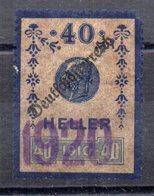 Sello  Fiscal Austria Matasello 1920 - Fiscaux