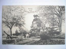 67 - CPA - MUTZIG - Feste Kaiser Wilhelm II Namenstein - Mutzig