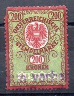 Sello  Fiscal Austria . - Fiscales