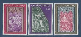 Andorre Français - YT N° 206 à 208 - Neuf Sans Charnière - 1970 - Neufs