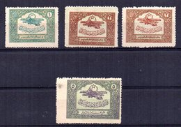 4 Stamps Aereos Sin Clasificar. - Stamps