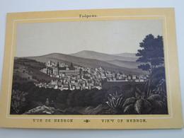 VUE DE HEBRON - Palestine