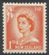 New Zealand. 1955-59 QEII. Large Value. 1d MH. SG 745 - New Zealand
