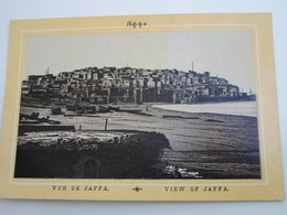 VUE DE JAFFA - Palestine