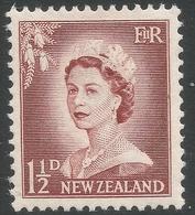 New Zealand. 1955-59 QEII. Large Value. 1½d MH. SG 746 - New Zealand