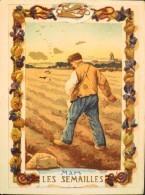 BELLE CHROMO & IMAGE - EAU DES CARMES BOYER IMP. HEROLD & Cie - Mars Les Semailles - BE - Vieux Papiers