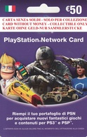 Network Card Italy PlayStation 2011 - Gift Cards