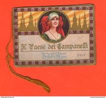 Calendarietti Da Barbiere 1925 Paese Dei Campanelli Profumerie Saponi Cella Milano Parfums Düfte Perfumes - Formato Piccolo : 1921-40