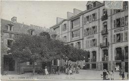 CPA - PONT AVEN - HOTEL JULIA ET L'ANNEXE - ND 107 - ANIMEE - 1906 - Pont Aven