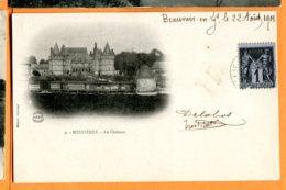 SPR517, Mesnières, Le Château, Précurseur, 9, Circulée 1901 - Mesnières-en-Bray