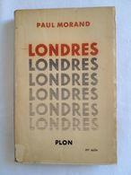 Londres De Paul Morand - Dédicace De L'auteur - Livres Dédicacés