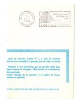 DORDOGNE - Dépt N° 24 = LA COQUILLE 1976 = FLAMME FDC = SECAP Illustrée D'un COQUILLAGE ' ACCUEIL En PERIGORD .' - Oblitérations Mécaniques (flammes)