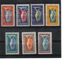 POL365 LITAUEN 1921 MICHL 109/15 (*) FALZ SIEHE ABBILDUNG - Litauen