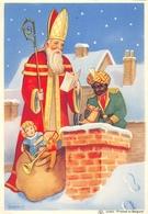 Sinterklaas Santa Claus  21061 No Postcard 10,5 * 15 Cm - Saint-Nicolas