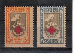 POL357 ESTLAND 1921 MICHL 29/30 A MINI GUMMIFEHLER (*) FALZ SIEHE ABBILDUNG - Estland