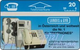 """TWK Österreich Privat: """"Landis & Gyr - Payphones"""" Gebr. - Oesterreich"""