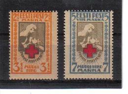 POL358 ESTLAND 1921 MICHL 29/30 A MINI GUMMIFEHLER (*) FALZ SIEHE ABBILDUNG - Estland