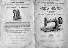 Vieux Papiers: Manuel Illustré De 27 Pages  Sur Machine A Coudre New Home .voir Scan Pour Un Petit Aperçu - Máquinas