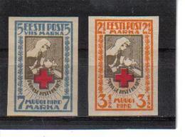 POL361 ESTLAND 1921 MICHL 29/30 B MINI GUMMIFEHLER (*) FALZ SIEHE ABBILDUNG - Estland