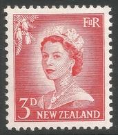 New Zealand. 1955-59 QEII. Large Value. 3d MH. SG 748b - New Zealand