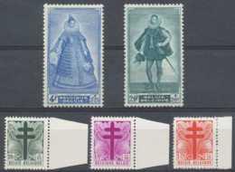 D - [203345]TB//**/Mnh-c:56e-N° 787/91, Antituberculeux, Croix De Lorraine , Albert Et Isabelle, Peintures De Gallait, S - Belgium