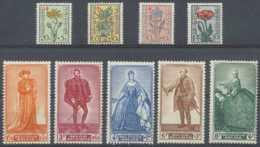 D - [203351]TB//**/Mnh-c:72e-N° 814/22, Antituberculeux, Fleurs Portraits Du Sénat IV, Dont Charles Quint, SC - Belgium