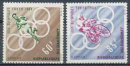 D - [203485]TB//**/Mnh-Dahomey 1964, Sports, Jeux Olympiques De Tokyo, SC - Bénin – Dahomey (1960-...)