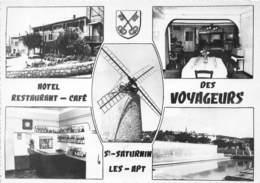 84-SAINT-SATURNIN-LES-APT- MULTIVUES HÔTEL RESTAURANT DES VOYAGEURS - Other Municipalities