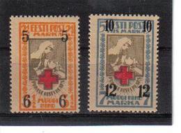 POL363 ESTLAND 1926 MICHL  60/61 MINI GUMMIFEHLER (*) FALZ SIEHE ABBILDUNG - Estland