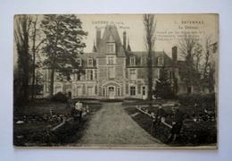 51 - Guerre De 1914 - Bataille De La Marne - ESTERNAY - Le Chateau Animé - Esternay