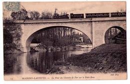 4483 - Maisons-Laffitte ( 78 ) - Le Pont Du Chemin De Fer Sur Le Petit Bras - N.D. Phot. N°13 - - Maisons-Laffitte
