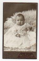 W9F99/ CDV Foto Baby  Atelier Otto Haase, Hamburg Ca.1910 - Fotos