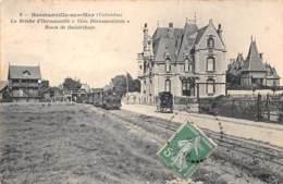 "14 . N° 54633.HERMANVILLE.La Brèche ""villa Hermavilette"".route De Ouistreham.tramway - Frankrijk"