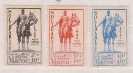 MAROC         N°  YVERT    241/243    NEUF AVEC CHARNIERE      ( Char 02/18 ) - Maroc (1891-1956)