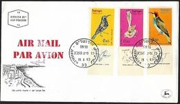 1963 - ISRAEL - FDC + Michel 273/275 [Air Mail] + JERUSALEM - FDC