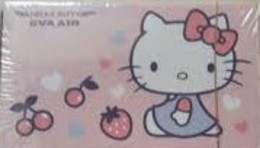 2017 Poker Of EVA AIR (airline Co. Of Taiwan) Hello Kitty Strawberry Cherry Heart Playing Cards - Jeux De Société
