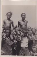 COTE  D' IVOIRE,,,,,ABIDJAN,,,,1955,,,PHOTO,,,,JEUNES  PERSONNES  DENUDEES,,,TBE - Afrique Du Sud, Est, Ouest