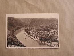 WAULSORT  Drapeau Et Panorama  Hastière Vallée De La Meuse  Province De Namur Belgique Carte Postale - Hastière