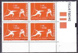 PGL DC0706 - ITALIA REPUBBLICA 2006 SASSONE N°2929 ** QUARTINA - 6. 1946-.. Repubblica