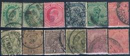 India 1902 / 28  -  Michel  56 + 70 / 71 + 75 / 77 + 82 + 96 + 102 + 105 + 113  ( Usadops ) - 1947-49 Dominio Británico