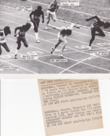 JEUX OLYMPIQUES MONTREAL 1976 / 110m HAIES / GUY DRUT, ALEJANDRO CASANAS,WILLIE DAVENPORT, CHARLES FOSTER - Sporten