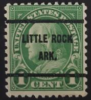 USA Scott #632 – Precancel Little Rock, Arkansas (1927) - United States