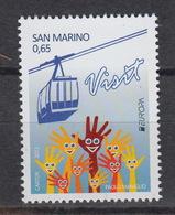 SAN MARINO  : 2321 ** Europe CEPT 2012 - Tourisme - Saint-Marin