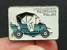 List 105 - AUTO CAR OLDTIMER, PRODUCED IN POLAND - Pin's