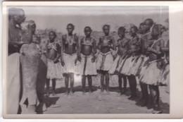 PHOTO   ABIDJAN ,,,,1955 ,,,,JOLIES JEUNES  FILLES ,,,,,TBE - Afrique Du Sud, Est, Ouest