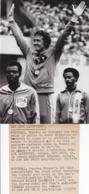 JEUX OLYMPIQUES MONTREAL 1976 / 400m HAIES / GUY DRUT, WILLIEDAVENPORT, ALEJANDRO CASANAS - Sports