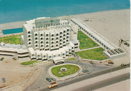 SHARJAH- THE CARLTON HOTEL, CAR, TRUCK, BEACH - United Arab Emirates