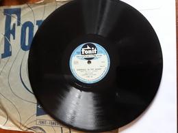 Fonit  ( Dacca )  -  Anni '50  - Nr. 1587  -  Carmen Cavallaro Orchestra - 78 G - Dischi Per Fonografi