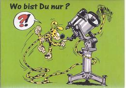 AK-38446  - Marsu Humor Sammelkarte - Wo Bist Du Nur   ? - Humor